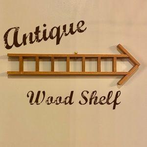 Vintage Wood Mini Shelf Wall Decor